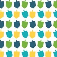 Dreidel Pattern I Fine-Art Print