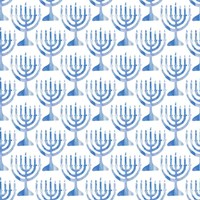 Menorah Pattern Fine-Art Print