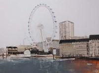 Ferris Wheel Landscape Fine-Art Print