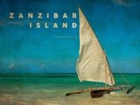 Vintage Zanzibar Island, Tanzania, Africa Fine-Art Print