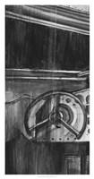 Vintage Cockpit I Fine-Art Print