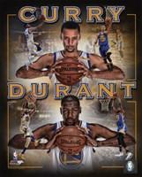 Stephen Curry & Kevin Durant 2016 Portrait Plus Fine-Art Print