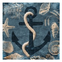 Anchor Blue Fine-Art Print