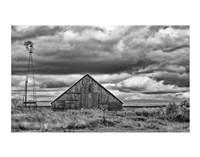 Windmill and Barn Fine-Art Print