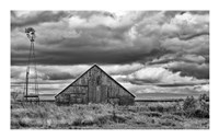 Windmill and Barn Fine-Art Print