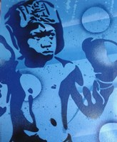 Blue Boxer Fine-Art Print