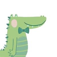Alvin the Alligator Fine-Art Print