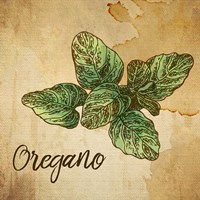 Oregano on Burlap Fine-Art Print