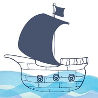 Sailing Along Fine-Art Print
