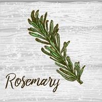 Rosemary on Wood Fine-Art Print