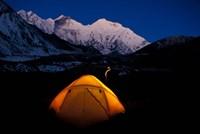 First Light on Mt Everest From the Kangshung, Tibet Fine-Art Print