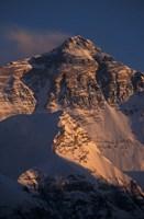 Mt Everest at Sunset From Rongbuk, Tibet Fine-Art Print