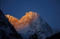 Sunrise on Chomolonzo, Tibet Fine-Art Print