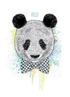 Hello Panda Fine-Art Print
