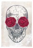 Skull & Roses Fine-Art Print
