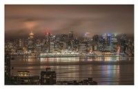 Vancouver Night Fine-Art Print