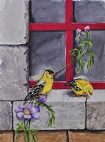 Gold Finches Fine-Art Print