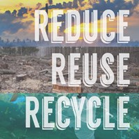 Reduce Reuse Recycle Fine-Art Print