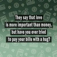 Love vs. Money Fine-Art Print
