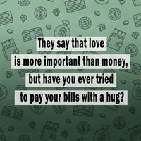 Love vs. Money II Fine-Art Print
