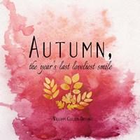 Autumn, the Year's Last Loveliest Smile II Fine-Art Print