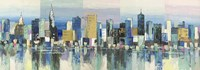 Manhattan Aqua Fine-Art Print