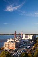 Ameristar Casino, Mississippi River, Mississippi Fine-Art Print