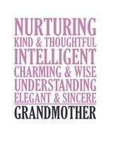 Adjectives for Grandma Fine-Art Print