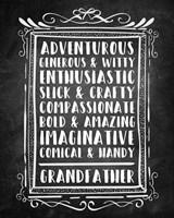 Grandpa - Chalkboard Fine-Art Print