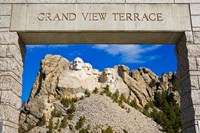 Grand View Terrace, Mount Rushmore Fine-Art Print