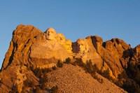 USA, South Dakota, Black Hills, Mount Rushmore National Memorial Fine-Art Print