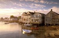 Massachusetts, Nantucket Island, Old North Wharf Fine-Art Print