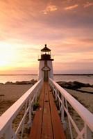 Massachusetts Nantucket Island, Brand Point island Fine-Art Print