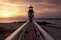 Brant Point Lighthouse, Nantucket, Massachusetts Fine-Art Print