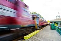Scenic railroad, Laconia, New Hampshire Fine-Art Print