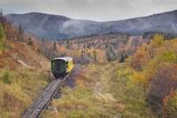 New Hampshire, White Mountains, Mount Washington Cog Railway Fine-Art Print