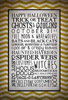 Words of October Fine-Art Print