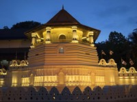 Temple of the Sacred Tooth Relic, Kandy, Sri Lanka Fine-Art Print