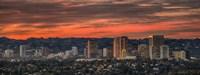 Century City, Hollywood Hills, Los Angeles, California Fine-Art Print