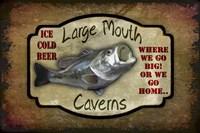 Large Mouth Cavern II Fine-Art Print