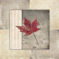 Lodge Leaf Tile 1 Fine-Art Print