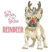 Glamour Pups Christmas V Fine-Art Print