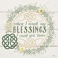 Irish Blessing II Fine-Art Print