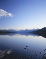 Lake McDonald and the Rocky Mountains, Glacier National Park, Montana Fine-Art Print