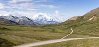 Mount McKinley and Thorofare Pass, Denali National Park, Alaska Fine-Art Print