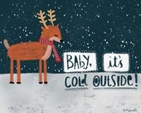 Cold Reindeer Fine-Art Print