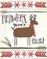 Reindeer Games Fine-Art Print