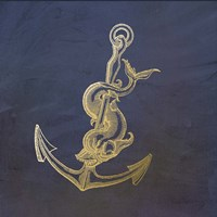 Golden Anchor Fine-Art Print