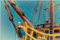 Figurehead Mermaid Pirate Fine-Art Print