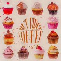 Cupcake Square Fine-Art Print